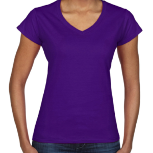 10909 Gildan Ladies Softstyle V-Neck T-Shirt